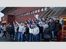 Motherwell fans' sickening Nazi salutes at event to launch
