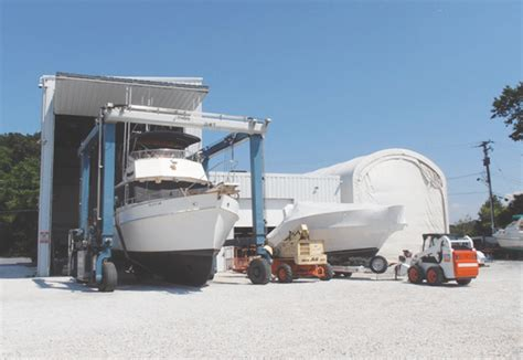 Boat Salvage Yard Baltimore by Weaver Marine Service Services