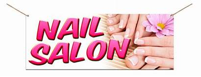 Banners Salon Nail Signs Services Mail Printing