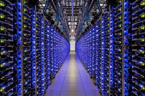 visite   du data center de google