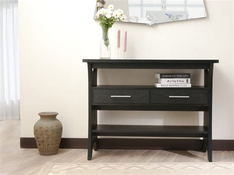 sofa tables with storage cheap console tables some unexpected ideas console table with