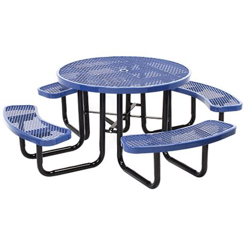 commercial outdoor 46 quot expanded metal table select