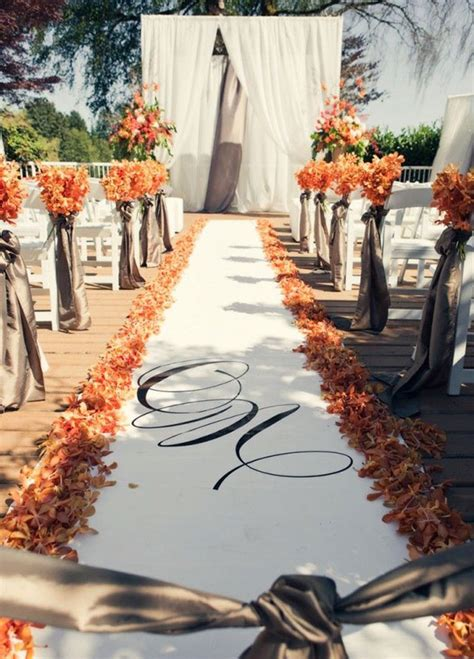 Idea of the Day: Details for Fall Weddings : Tracie Domino