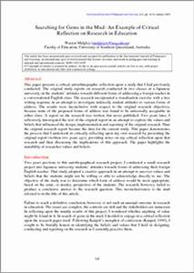critical reflection paper format