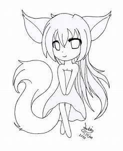 Pretty Cute Anime Girls Coloring Pages for Kids ...