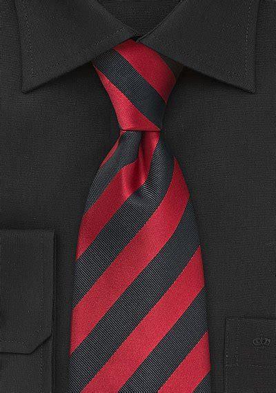 deep red  black tie bows  tiescom