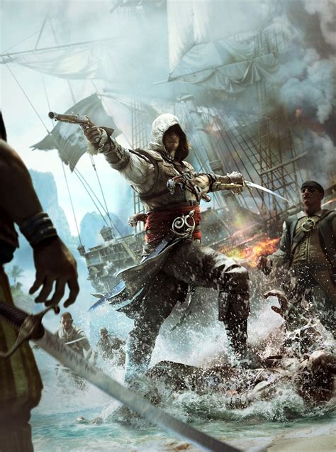 Image Assassins Creed 4 Black Flag Cover Art By Twodots