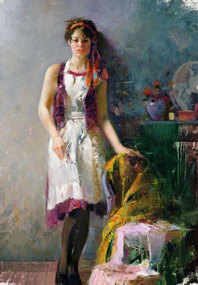 Pino Artist Women Reflection Daeni