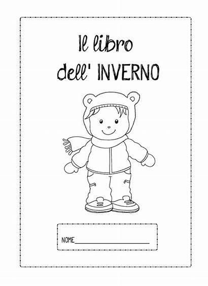 Dell Scuola Inverno Schede Libro Maestra Infanzia