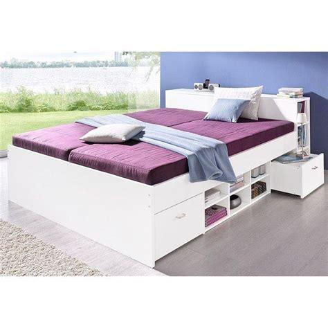 lit sommier matelas 2 personnes lit complet 1 ou 2 personne s sommier matelas confort ferme rangements blanc autres
