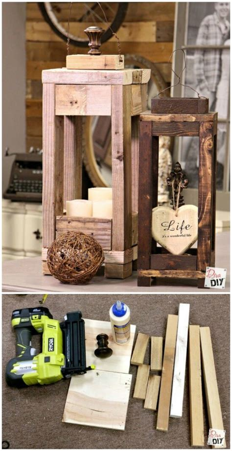diy wood projects for home decor 20 impossibly creative diy outdoor decorations Easy