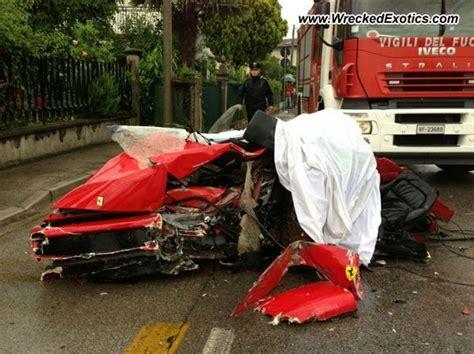ferrari  crashed  italy autoevolution