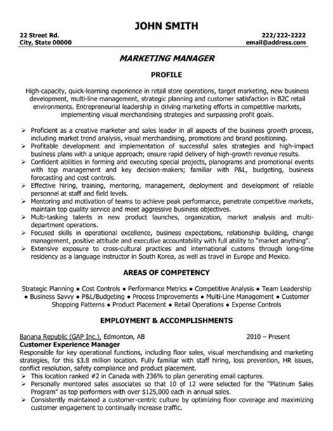 13069 marketing director resume 24 best images about best marketing resume templates