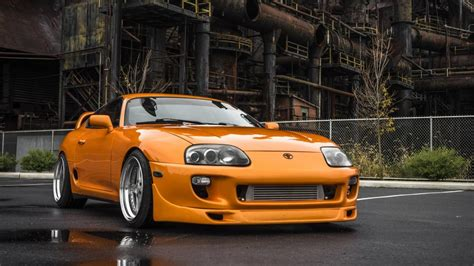 Toyota Supra (fast And Furious Movie Car) 4k Ultrahd