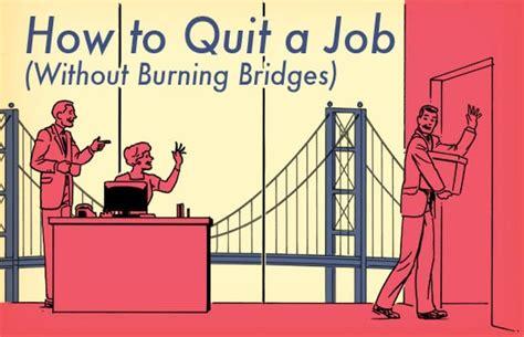 quit  job   give  weeks notice