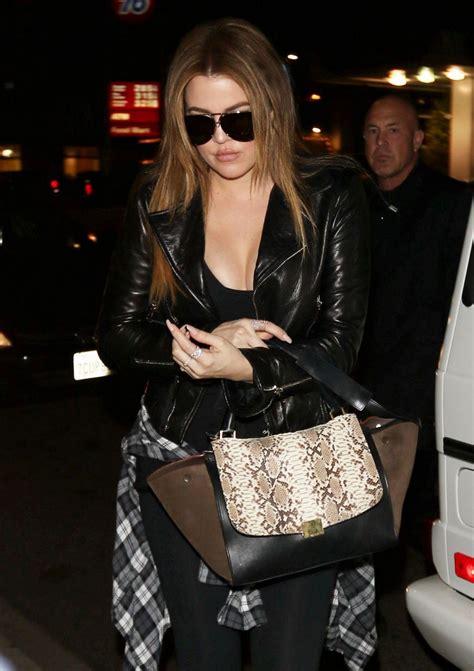Khloe Kardashian Street Style - At Jack N' Jill's Too in ...