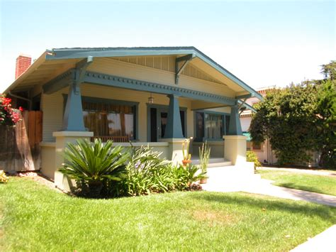 California Craftsman Bungalow Oldstyle Bungalow Home