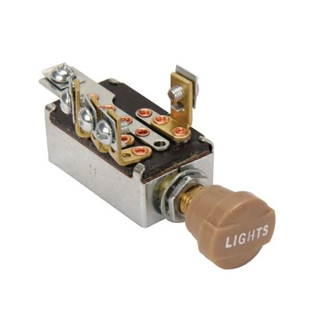 new universal headlight switch with hi low beam 3 8 quot mounting type ebay