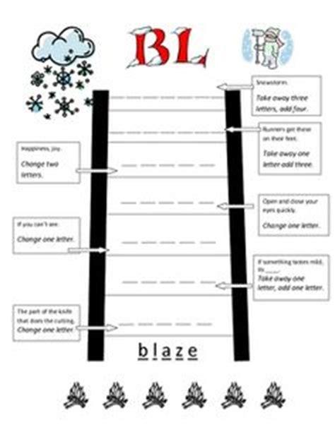 word ladders template reading word ladders words