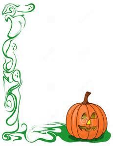 Pumpkin Border Clip Art