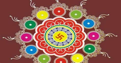 diwali rangoli  designs photo images  festival chaska