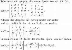 Determinante Berechnen 4x4 : determinante berechnen sie folgende determinante mathelounge ~ Themetempest.com Abrechnung