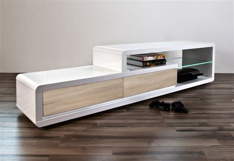 chambre a coucher blanc laque brillant meuble tv bois et fer pas cher