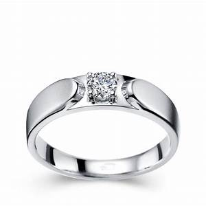 men s diamond wedding ring band in white gold simple With boy wedding rings