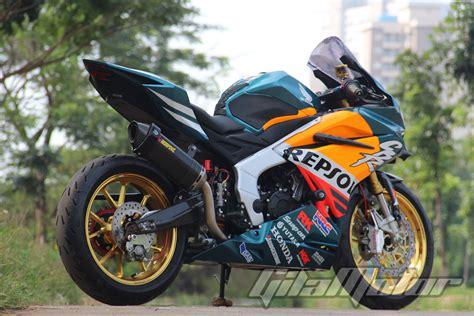 Modif Cbr250rr by Modifikasi All New Honda Cbr250rr Serba Spesial Gilamotor
