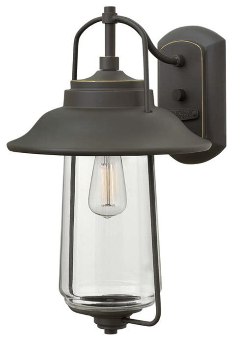 hinkley lighting belden place rubbed bronze outdoor wall