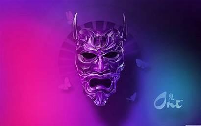 Oni Mask 4k Wallpapers Wide Desktop