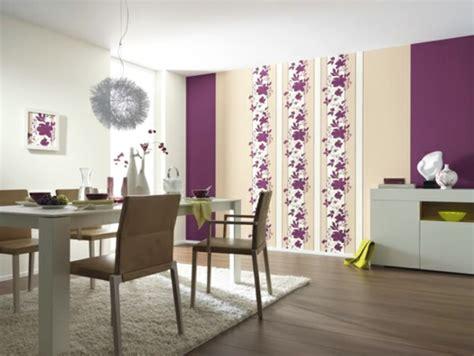 Bescheiden Wohnraumgestaltung Wanddeko Ideen Mit Floralen Motiven