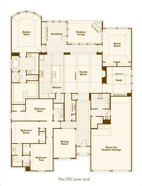 home layout design home plan 292 in prosper tx 75078
