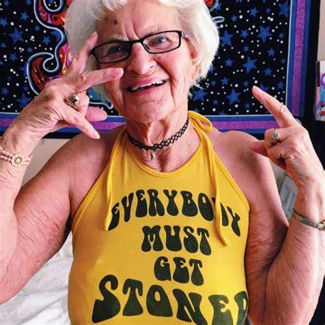 year  instagram celebrity grandma  kicking