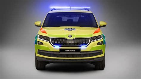 skoda kodiaq ambulance wallpaper hd car wallpapers id