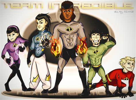 Incredibles Next Gen By Da1nonly On Deviantart