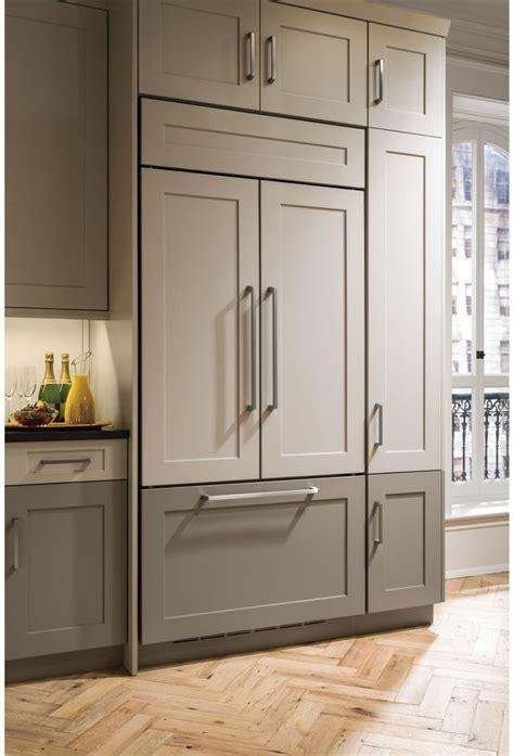 monogram  cu ft custom panel built  french door refrigerator zipnn appliance mart