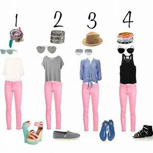 How to wear pastel - light pink jeans - pants | Outfits | Pinterest | Pink Jeans How To Wear ...