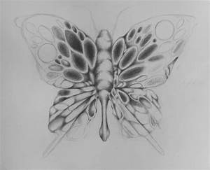 Simple Pencil Sketches Of Butterflies | www.imgkid.com ...