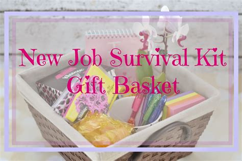 New Job Survival Kit Gift Basket Best Step Dad Gifts For Fathers Day Christmas Under 0 Personalized Riyadh Handmade Boyfriend Spencer Burlington Mall Halloween Engraved Picture Western Michigan University