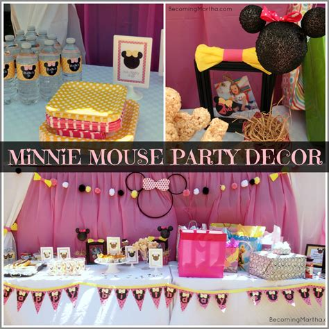 cuisine minnie minnie mouse decor becoming martha
