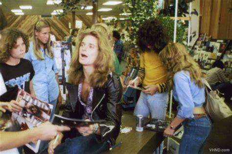 unearthed photos van halen 1978 in store appearance van