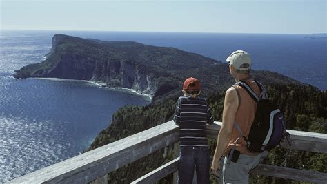 tourisme gaspesie mont saint alban forillon national park