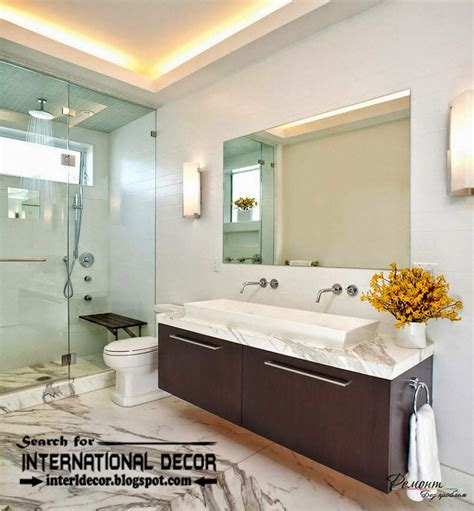 bathroom ceiling lights ideas contemporary bathroom lights and lighting ideas