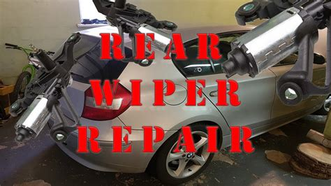 How Fix Rear Wiper Motor For Free Bmw Series