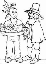 Coloring Pilgrim Indian Pilgrims Thanksgiving Printable Indians Native Sheets Preschool Bestcoloringpagesforkids Americans Printables Worksheets Activity Stories Draw Mpmschoolsupplies sketch template