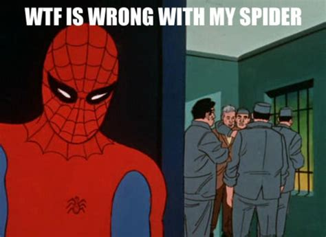 60s Spiderman Memes - 60 s spiderman memes spider man pinterest memes and laughing