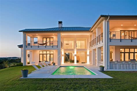 modern country home designs property country modern house plans with pool modern house plan