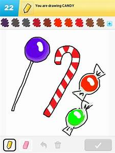 Candy Drawings - How to Draw Candy in Draw Something - The ...