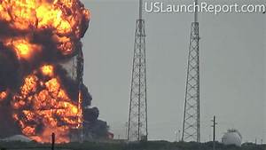 Spectacular Video Captures Catastrophic SpaceX Falcon 9 ...